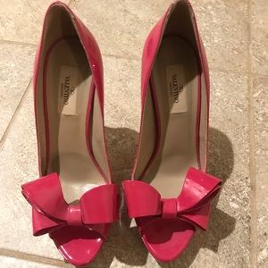 Valentino Shoes - Pink Bow Valentino Heels